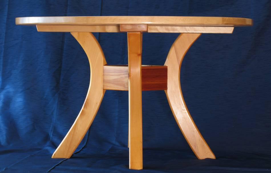 Изготовление круглого стола из дерева своими руками 45